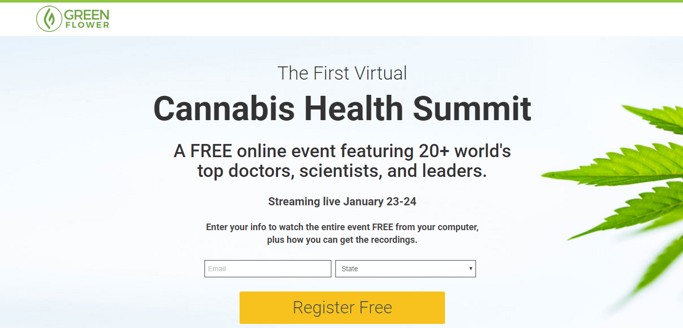 Cannabis Health Summit by Green Flower Media