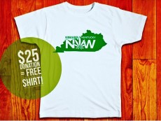 Donation Over $25 Gets Free Shirt